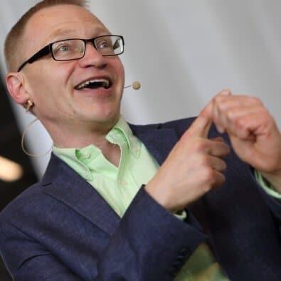 Tomas Eriksson föreläser om arbetsglädje