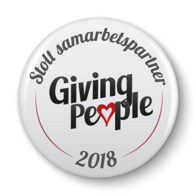 Arbetsgladje.se är stolt sammarbetspartner till Giving People
